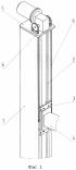 Стойка вертикального перемещения рентгеновского аппарата