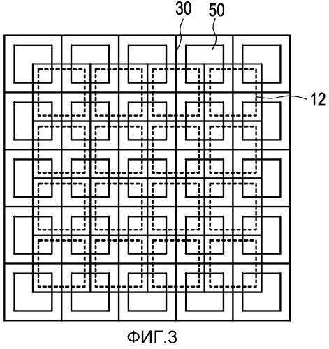Пикселированное детекторное устройство