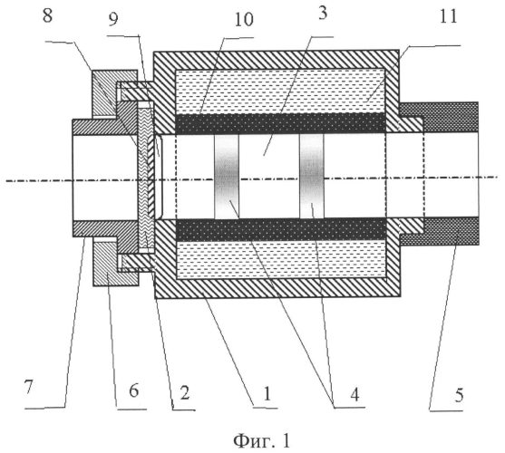 Устройство для измерения давления и температуры в потоке газа и/или жидкости и стенд для испытания и измерения характеристик работы газотурбинного двигателя