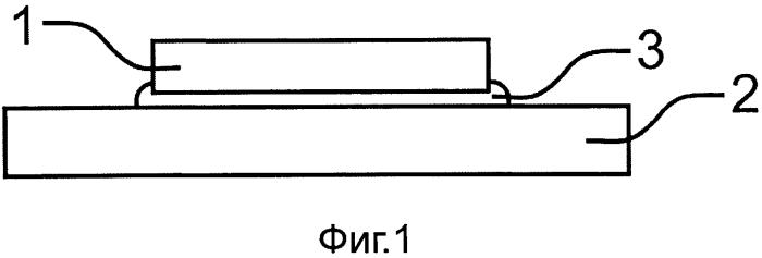 Способ соединения первого электронного конструктивного элемента со вторым конструктивным элементом