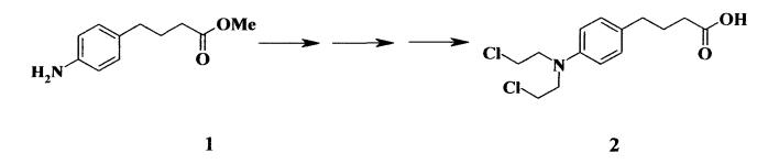 Способ получения метилового эфира 4-(4-аминофенил)масляной кислоты