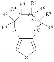 Растворимые сопряженные электрохромные полимеры с чередованием донорных и акцепторных звеньев