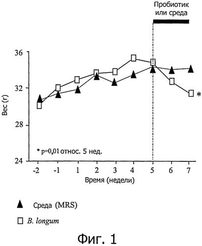 Bifidobacterium longum atcc baa-999 (bl999) и контролирование веса