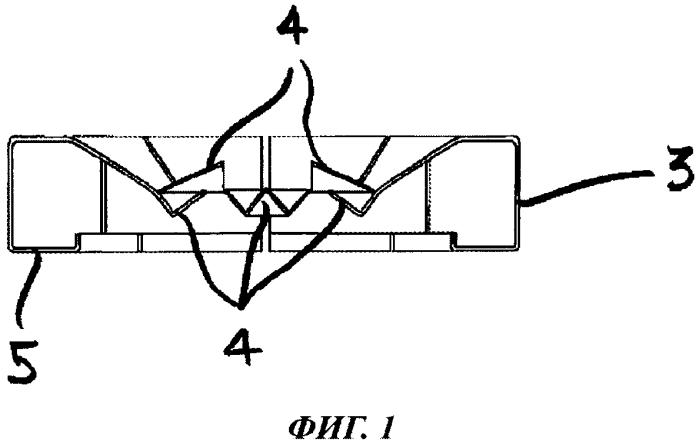 Электробытовой прибор с упругим крепежным устройством