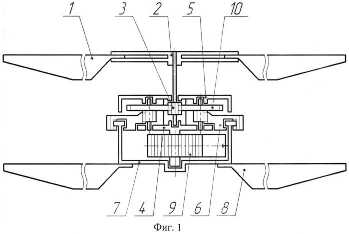 Летающий заводной вертолет