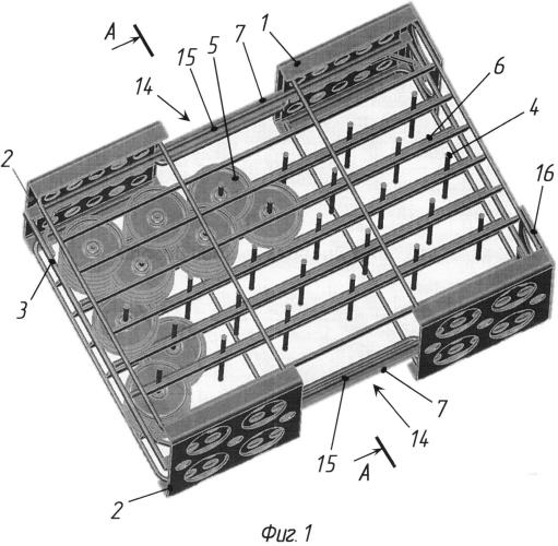 Способ сборки изделий в кассету