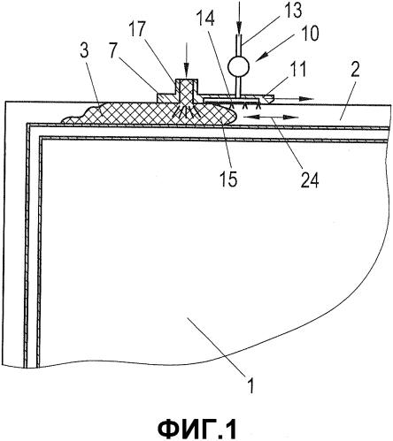 Способ и устройство для герметизации заготовок стеклопакетов