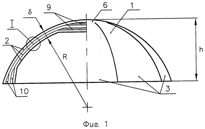 Антенный обтекатель из слоистого стеклопластика