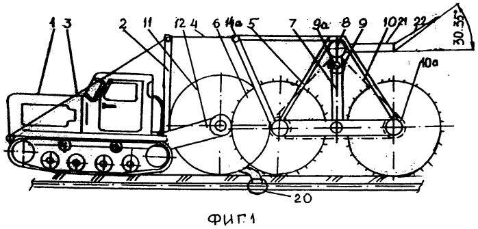 Дождевальный агрегат фронтального перемещения