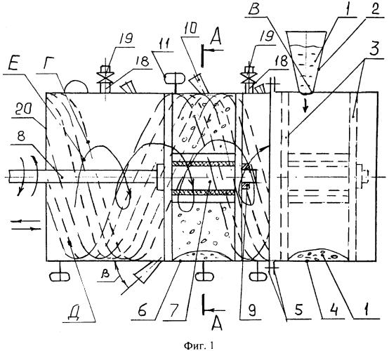 Способ получения металлического свинца из водяной суспензии частиц руды, содержащей соединения свинца, и устройство для его осуществления