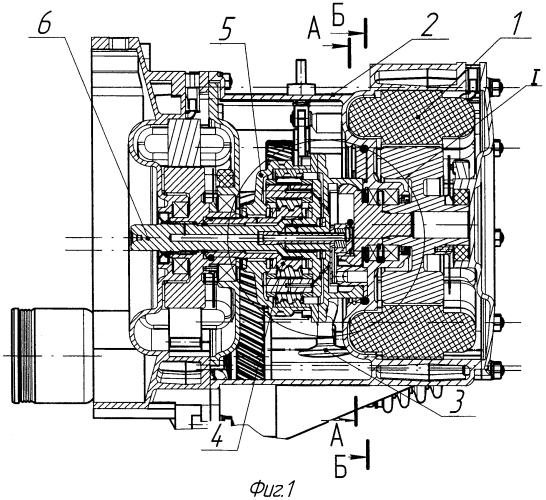 Система смазки планетарного механизма гибридной силовой установки транспортного средства (варианты)