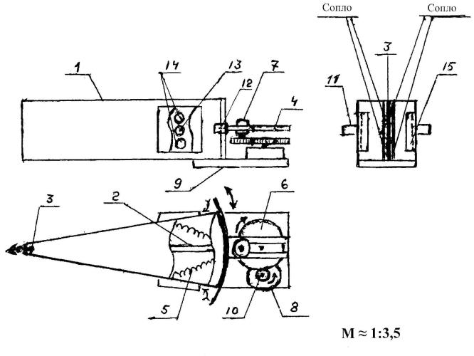 Корпусный ластово-резонансный клапанный воздушный движитель (кл-рквд-с1)