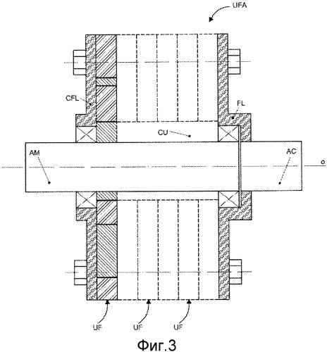 Механический вариатор скорости с эксцентрическими динамическими массами, имеющий уравновешенную конструкцию