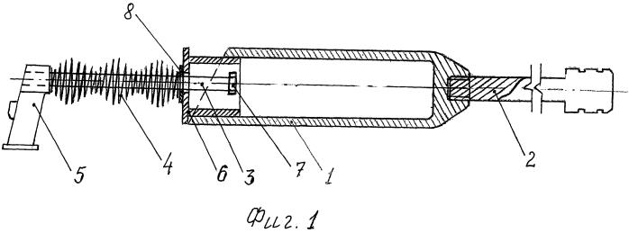 Возвратный механизм автоматического стрелкового оружия