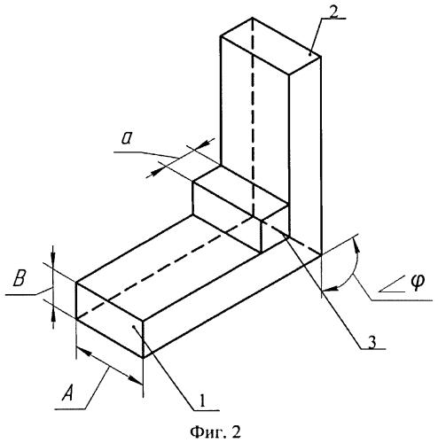 Прямоугольный волновод с одинарным уголковым изгибом (варианты)