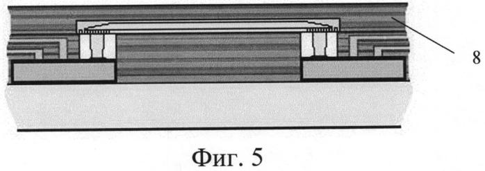 Способ образования канала для передачи оптического сигнала между компонентами электронного модуля