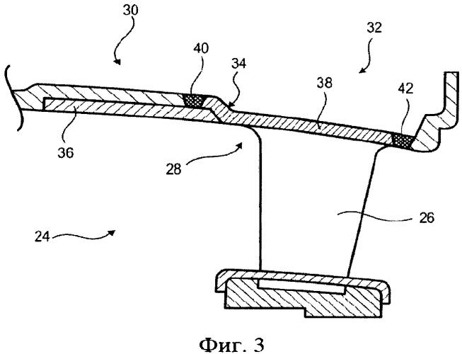 Статор осевой турбомашины, способ его производства и турбомашина, содержащая указанный статор