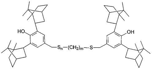 Серосодержащие производные 2,6-диизоборнилфенола