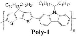 Сопряженный полимер на основе карбазола и циклопентадитиофена и его применение в качестве электролюминесцентного материала в органических светоизлучающих диодах