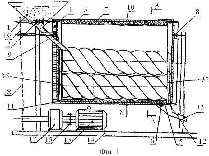 Машина для предпосевной обработки семенного материала