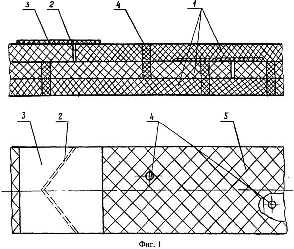 Ленточный препрег для изготовления теплозащитного покрытия силовой оболочки корпуса возвращаемого с гиперзвуковыми скоростями летательного аппарата