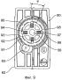 Автоматически переключающийся сцепляющий механизм для средства регулировки наружного зеркала автомобильного транспортного средства