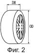 Пневматическая радиальная шина для пассажирского транспортного средства и способ ее эксплуатации