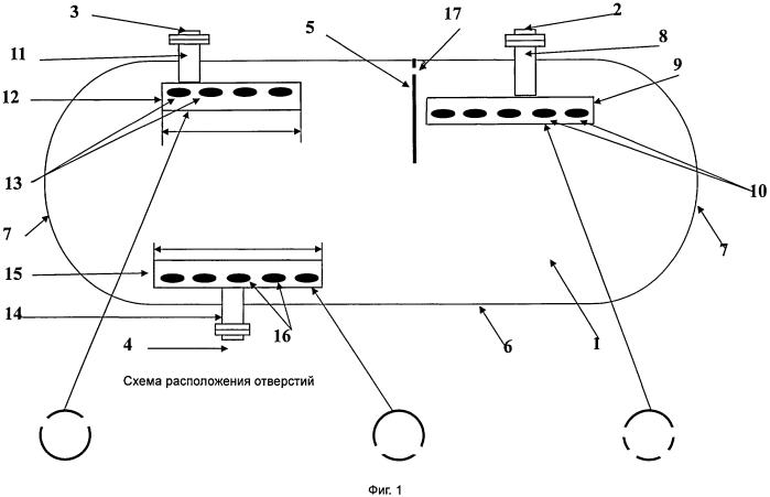 Отстойник гидрофобный жидкофазный для внутрипромысловой подготовки пластовой воды