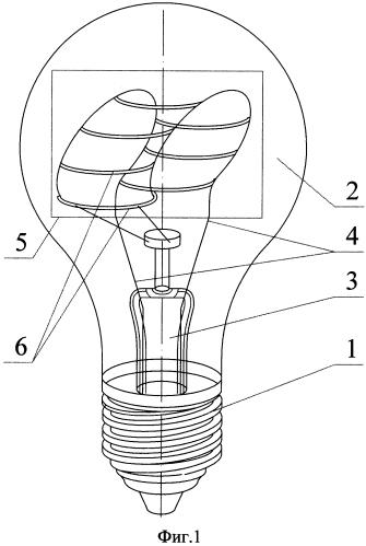 Электрическая лампа накаливания