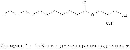 Применение 2,3-дигидроксипропилдодеканоата для лечения себореи