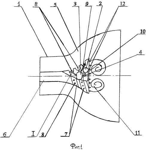 Способ формирования тяги двигателя с центральным телом и двигатель для его реализации