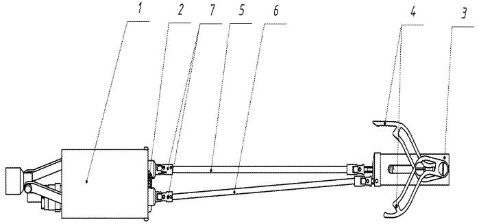 Устройство установки-снятия заглушки