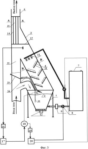 Гидромагнитный газоочиститель