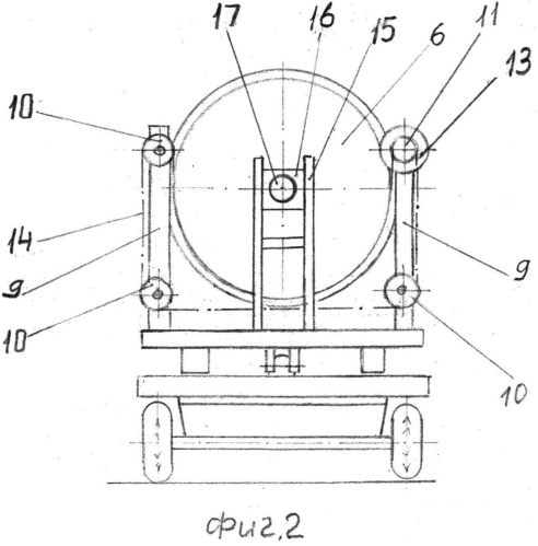 Способ передачи процесса вращения от привода бункеру смесителя-раздатчика кормов и устройство для осуществления способа