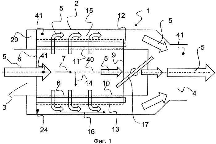Устройство с теплообменником для термоэлектрического генератора автомобиля
