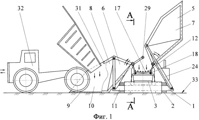 Способ подготовки и транспортировки горной массы при разработке глубокозалегающих месторождений и автоматизированный комплекс для его осуществления