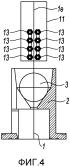 Устройство для получения керамических волокон, покрытых из жидкой фазы толстой металлической оболочкой