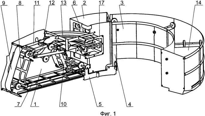 Система питания автоматической пушки и способ укладки лент в систему
