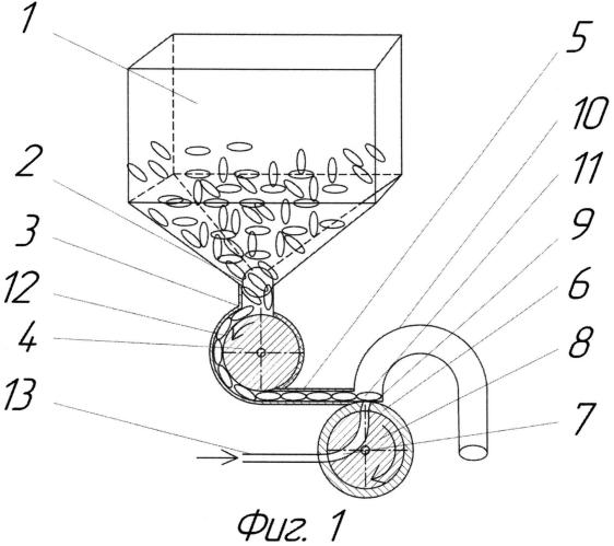 Пневмомеханический высевающий аппарат