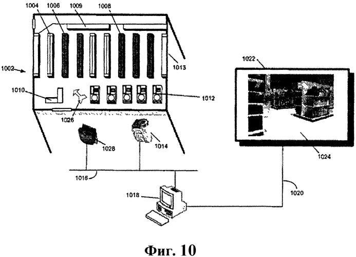 Отображение данных, относящихся к розничной среде, на виртуальной схеме физической розничной среды