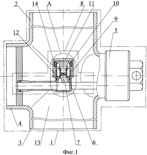 Обратный клапан и способ обогрева его запорного органа
