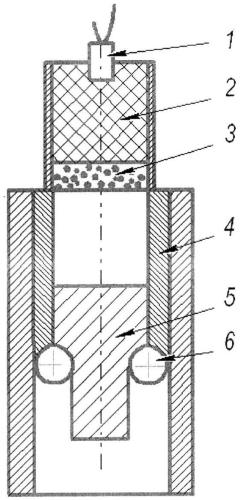Способ получения дисперсно-упрочненных материалов при динамическом нагружении