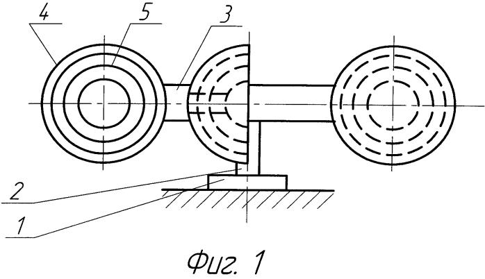 Вертикальный ветродвигатель