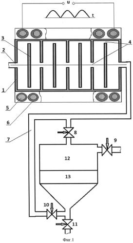 Устройство очистки воды магнитным полем и способ определения эффективности работы устройства