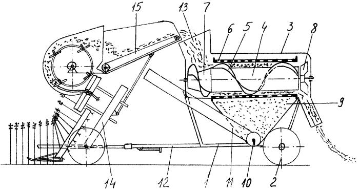 Сепаратор-накопитель прицепной