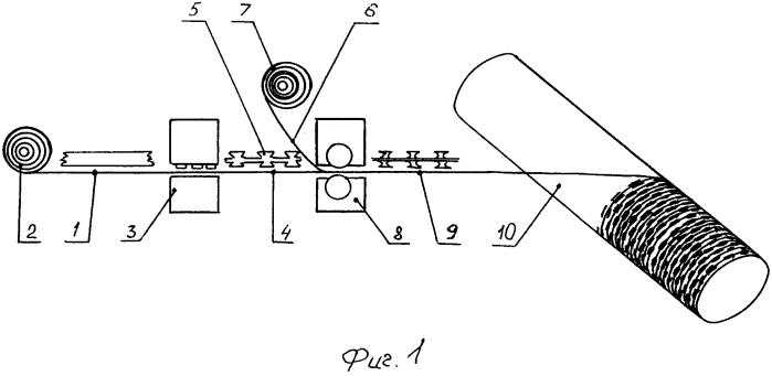 Способ изготовления плоского колюще-режущего заграждения акация