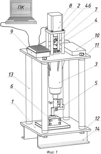 Установка для электромеханического упрочнения отверстий втулок