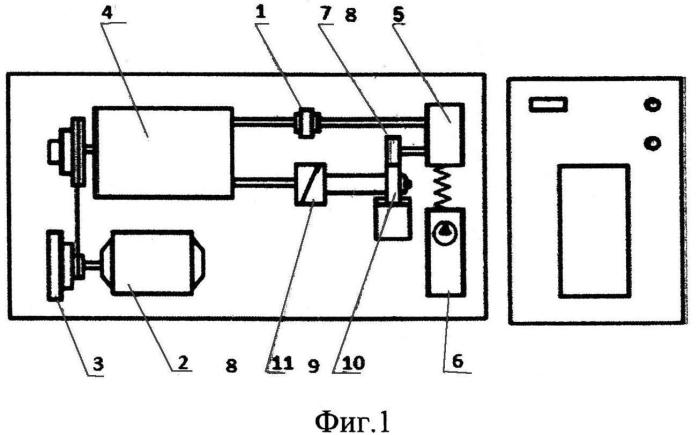 Устройство для оценки триботехнических свойств гребней колес после плазменной обработки