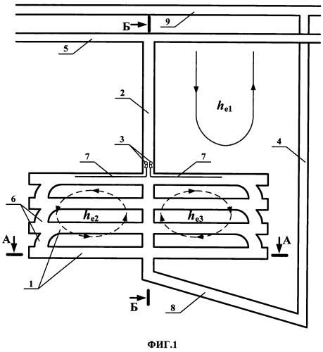Способ проветривания выемочного участка при обратном порядке отработки полезного ископаемого, расположенного по падению пласта