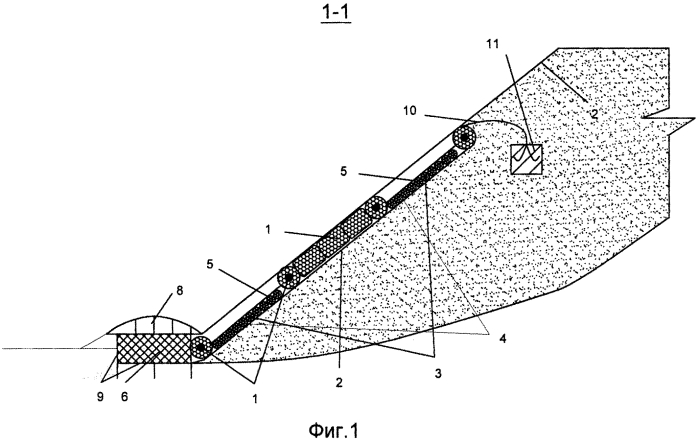 Способ возведения прибрежного крепления из фашин биопозитивной конструкции